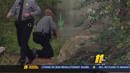 Raleigh search underway for suspect who fled after chase, crash |
