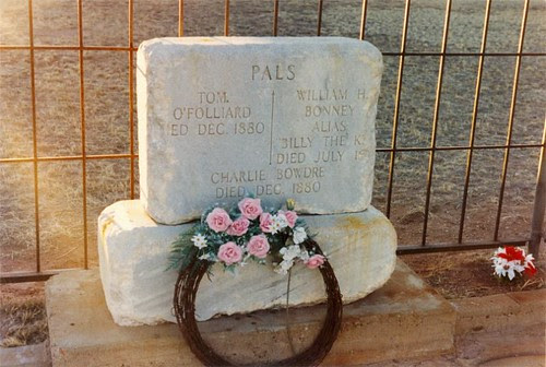 billy the kid dead photo. Billy The Kid tombstone with