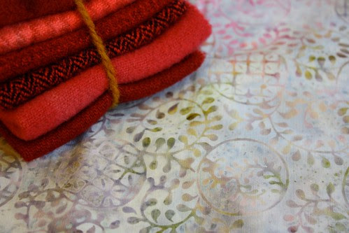 Felted Wool and more Batik