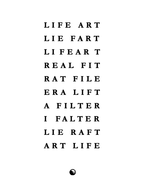 Visual-Poetry — »life art« by jim andrews