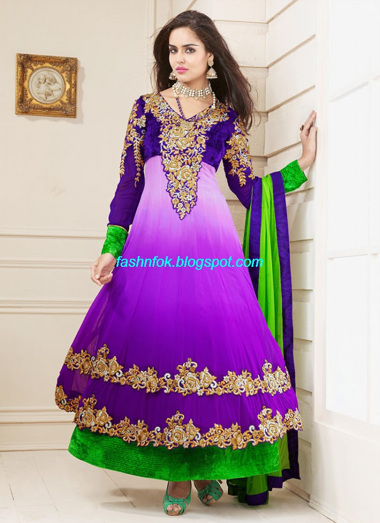 Anarkali-Umbrella-Wedding-Brides-Fancy-Party-Wear-Frocks-2013-Latest-Fashionable-Clothes-18