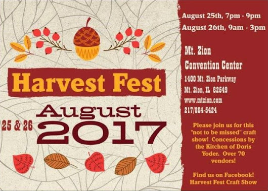 Mt. Zion Harvest Fest Craft Show