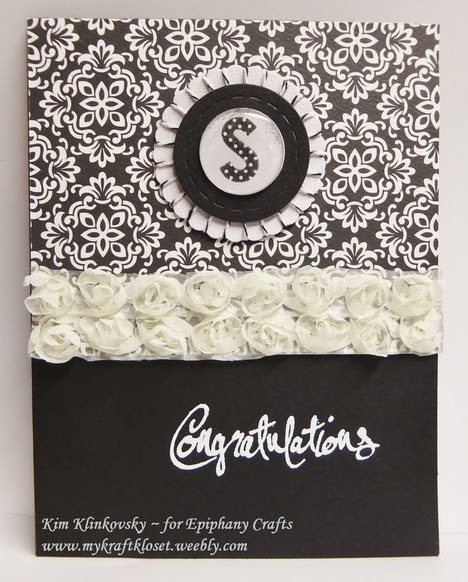Elegant Personalized Cards with Epiphany Crafts Tools