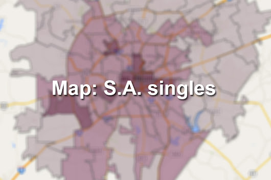 This is where singles live in San Antonio