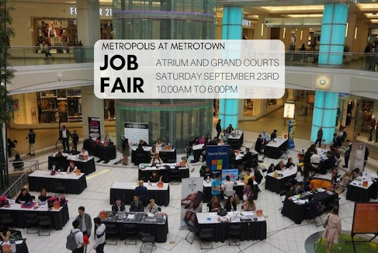 Metropolis at Metrotown Job Fair