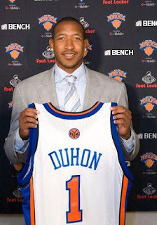 Chris Duhon is number one (in terms of number of wide open threes missed)