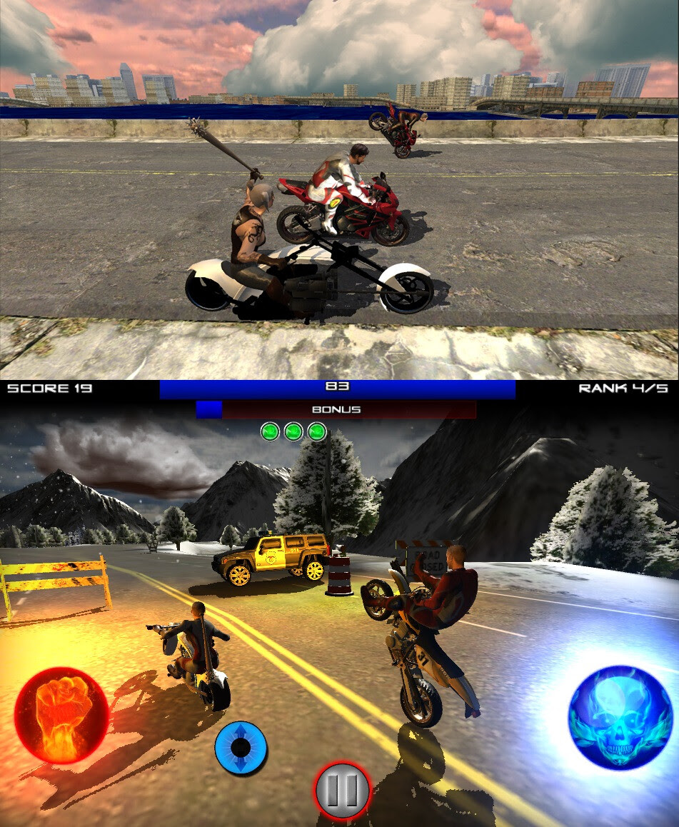Race Stunt Fight 3 - Android - Free