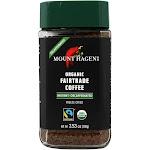 Mount Hagen Organic Fairtrade Instant Coffee Freeze Dried Decaffeinated 3.53 oz.