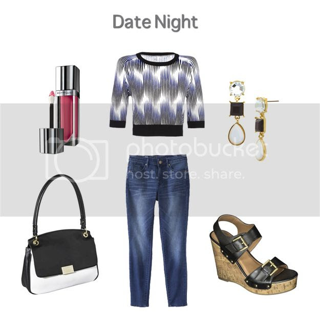 Peter Pilotto for Target lookbook - date night outfit