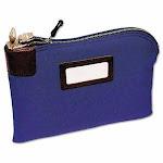 Seven-Pin Security Deposit Bag, 2 Keys, 11 x 8.5, Blue (MMF2330881W08)