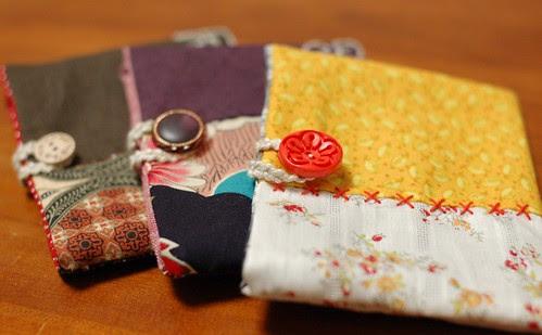 Button pouch