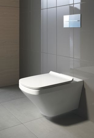Duravit Durastyle Wall Mounted Toilet Concealed Fixings Waterloo