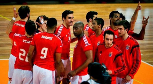 Benfica defronta Ravenna na Challenge de voleibol