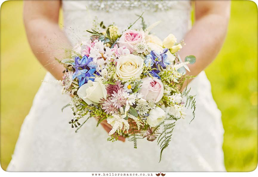 Vintage bridal bouquet - www.helloromance.co.uk