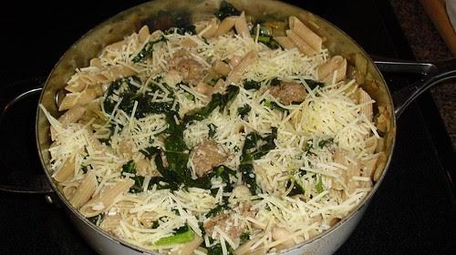 reader pic kale pasta