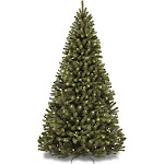 Best Choice Products 9ft Pre-Lit Spruce Hinged Artificial Christmas Tree w/ 900 Incandescent Lights, Stand - Green