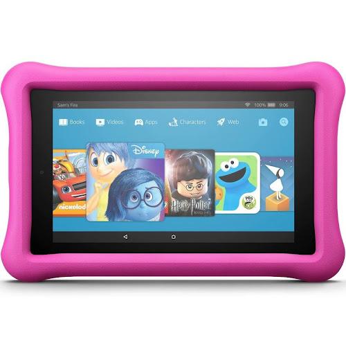 "Amazon Kindle Fire 7 Kids Edition - Wi-Fi - 16 GB - Pink - 7"""