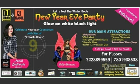 Upto 33% Discount on passes of New Year Eve Par...