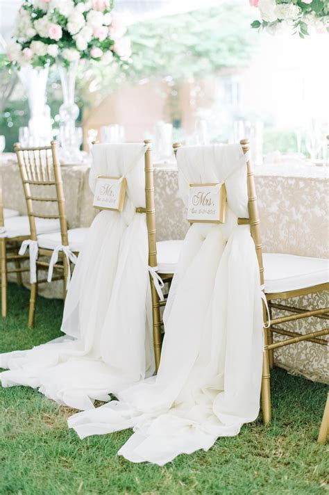 11 Designs and Décor for the Bride and Groom's Reception