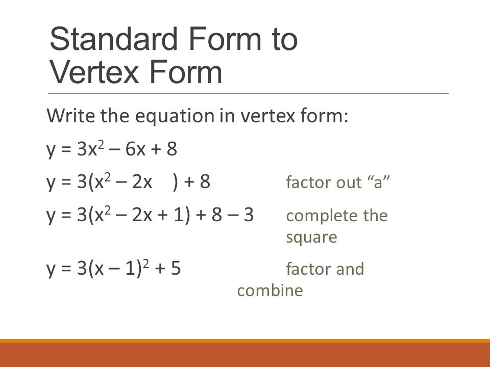 Put Quadratic Equation Into Vertex Form Calculator  Tessshebaylo