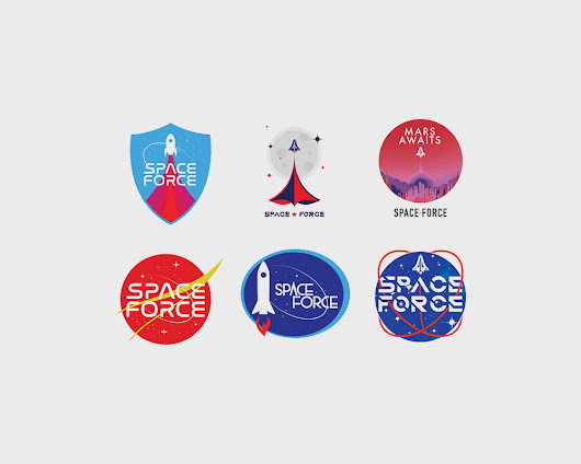 Trump's Space Force Logos Are Making The News | DesignMantic: The Design Shop