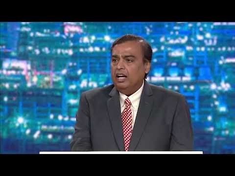 Watch Live Reliance Jio AGM (Live Update)