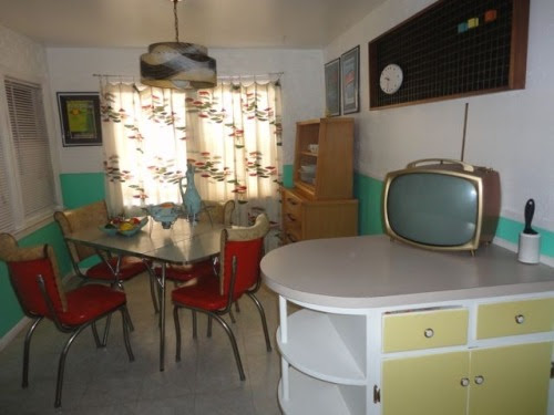 My 1950's Home | Doris Mayday's Kitchen featured on TLC's My Crazy...
