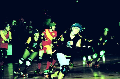 it only takes one bout to get hooked on roller derby