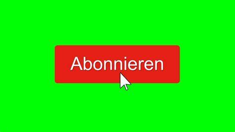 kostenloser greenscreen abonnieren button  fps youtube