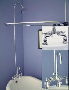 Cheap Clawfoot Tubs Clawfoot Tub Shower Conversion Kit 48 X 28