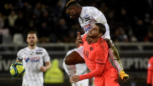 PSG without Neymar, Mbappe held 4-4 by lowly Amiens