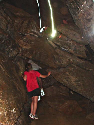 Exploring Eagle Cave