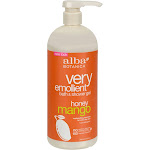 Alba Botanica Very Emollient Bath & Shower Gel, Honey Mango - 32 fl oz