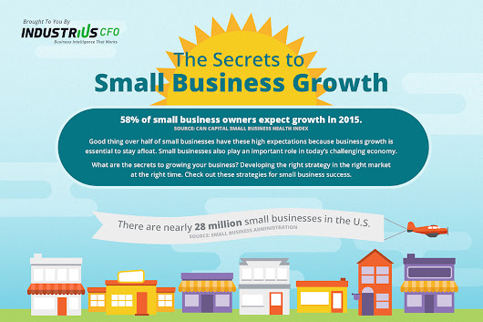 Three Secrets to Small Business Growth - IndustriusCFO