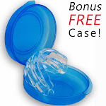 Snore Relief Mouthpiece - Anti Snoring Aid Mouthguard - Oral Stop Snoring Device