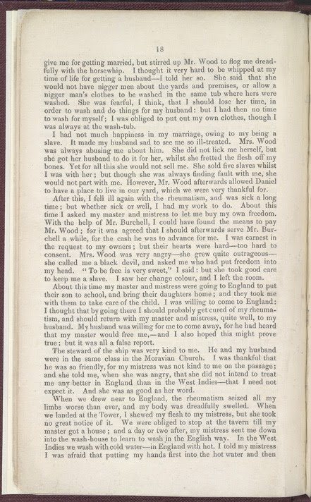 The History of Mary Prince, A West Indian Slave -Page 18