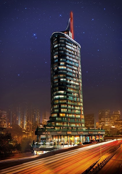 High Investment Value Tower in Istanbul -