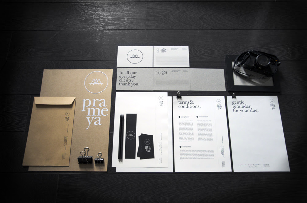 lovely stationery prameya 51 60 Professional Examples of Stationery Design