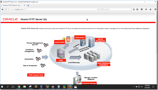 Oracle Access Management WebGate on OHS 12c