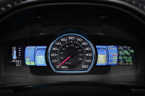 ford fusion hybrid smart gauge  ecoguide intriguing