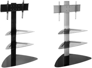 Peerless SS550P Flat Panel TV Stand for 32-50 inch LCD and Plasma ...