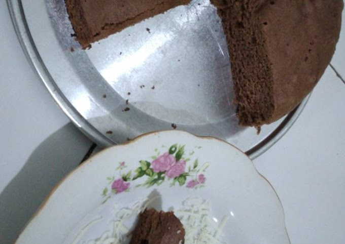 Resep Praktis Bolu chocolatos 2 telur Hitungan Menit
