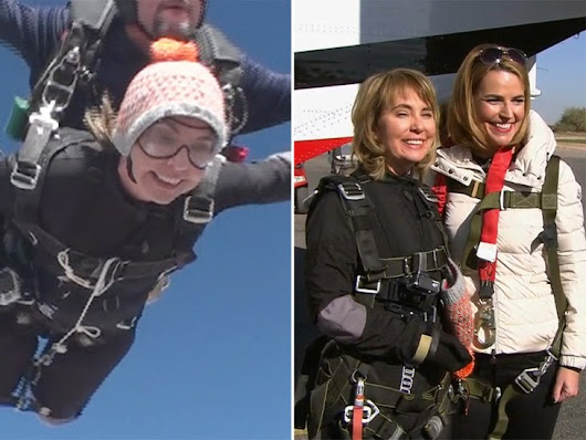 Gabby Giffords: Skydive is my way of saying 'I'm alive' - TODAY.com