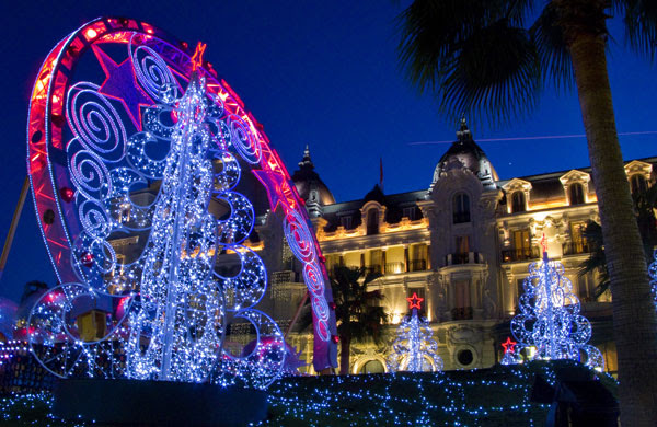 Gallery Light installations: Christmas lights in Monte Carlo