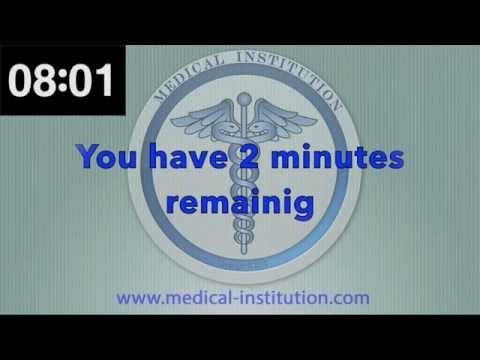 Medical Institution: USMLE STEP 2 CS Timer - Patient Note