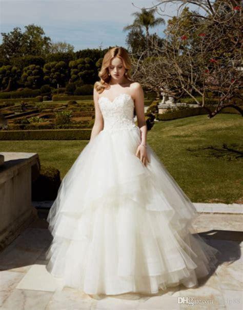 Vintage Lace Tulle A line 2016 Wedding Dresses Backless