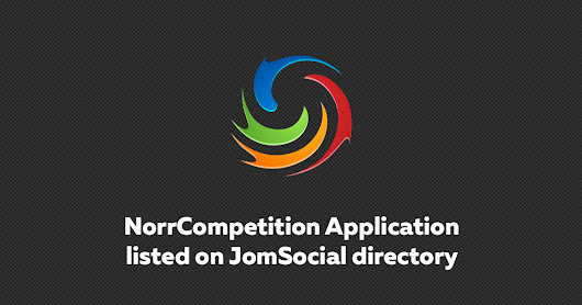 NorrCompetition Application listed on JomSocial directory