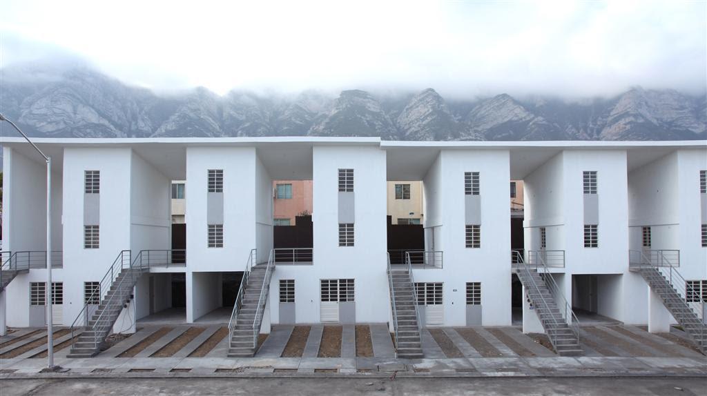 Vivienda Colectiva, ELEMENTAL Monterrey, arquitectura, casas