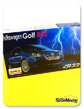 Kit 1/24 Fujimi - Volkswagen Golf R32 - maqueta de plastico