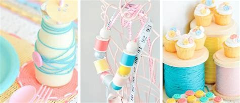 "Kara's Party Ideas ""Sew Cute"" Sewing themed 10th Birthday"
